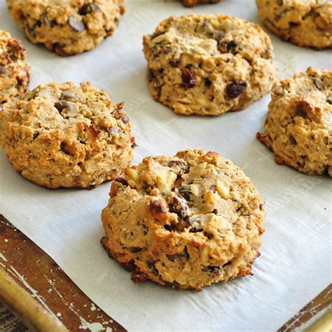 whole grains breakfast whole grain breakfast cookies with nuts seeds and