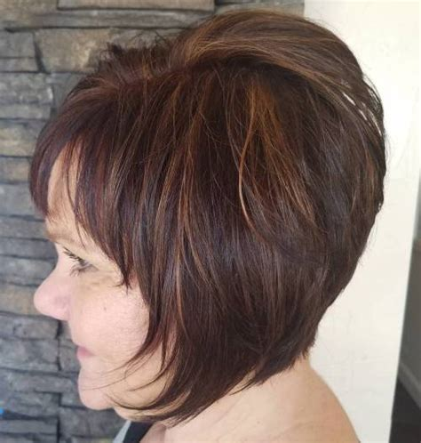 back images of bob with bangs for 50 90 classy and simple short hairstyles for women over 50