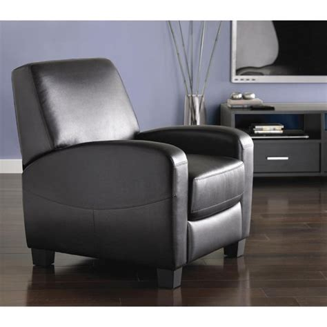 home theater recliner chair mainstays home theater recliner multiple colors walmart com