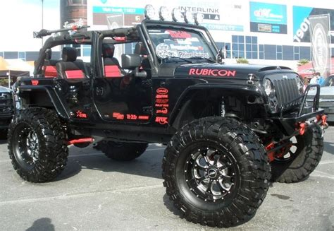 cool jeep colors jeep wrangler rubicon different accent color black
