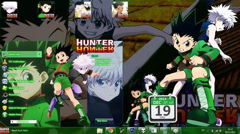 hunter x hunter themes for windows 8 1 theme win 7 gon and killua hunter x hunter by bashkara