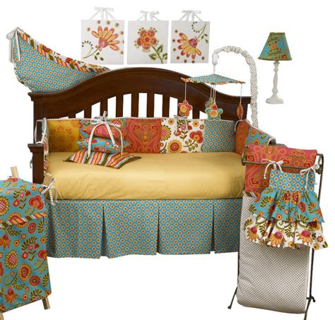 Modern Crib Bedding Set 8pc Crib Bedding Set Modern Baby Bedding By Cotton Tale Designs