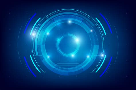 abstract hud technology background