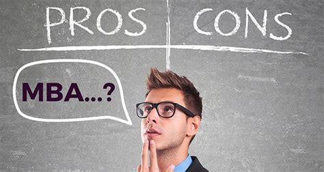 Pros And Cons Of Mba Degree by 10 Things An Mba Will And Won T Do For You Jobberman