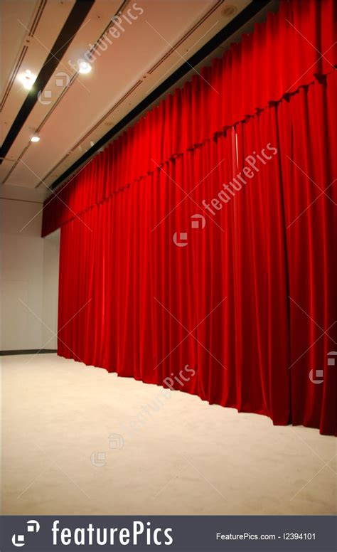 stage curtains cost photo of red draped theater stage curtains with lights