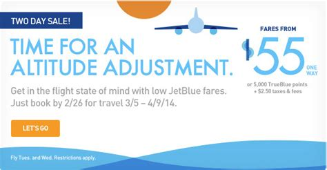 jet blue air fare     feb
