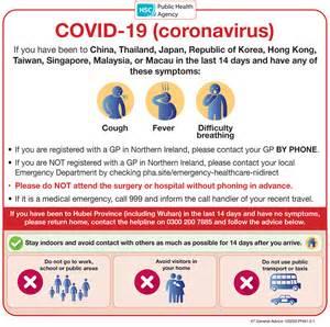covid  coronavirus hsc public health agency