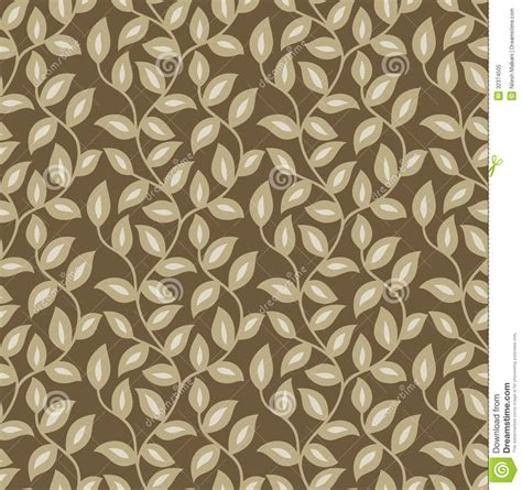 leaf pattern vector background seamless leaves wallpaper stock vector image of golden