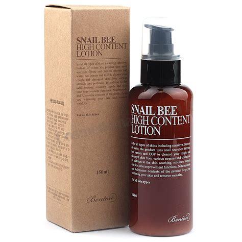 Benton Hight Content Skin 150 Ml Original benton snail bee high content lotion 150ml free gifts