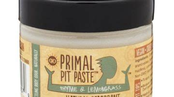 Primal Pit Paste Armpit Detox by Susan Tv On The Go Luxury Leisure A Whip Of