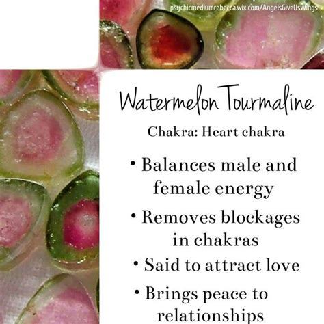 25 best ideas about watermelon tourmaline on