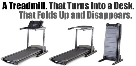 convert treadmill to walking desk quot thinline quot proform s all in one treadmill desk my review