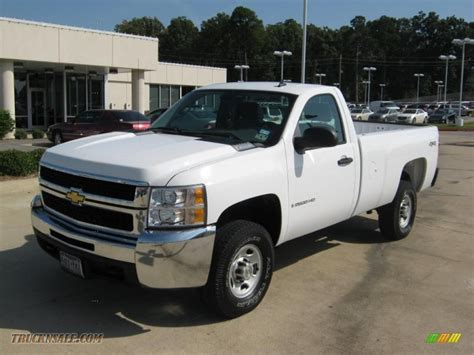 2007 chevrolet silverado 2500hd work truck regular cab 4x4
