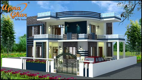 4 bedroom duplex designs 4 bedroom duplex house design in 210m2 14m x 15m click
