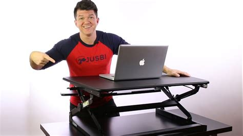 sit and stand desk reviews flexispot sit stand desk riser unboxing and review youtube