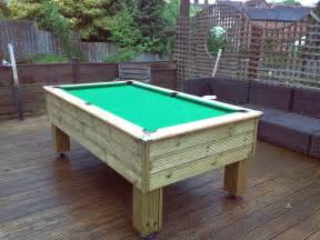 Homemade Pool Table Diy Outdoor Pool Table Home Design