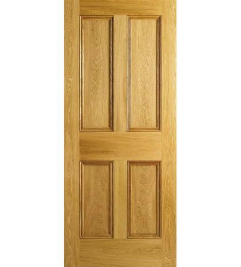 oak moulded 4 panel door shawfield doors