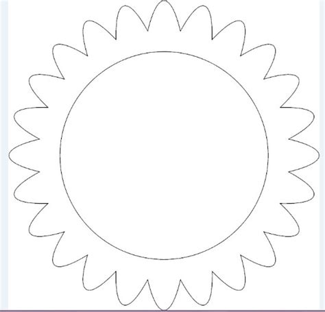 sunflower template printable sunflower petal template printable www imgkid the