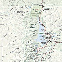 grand teton national park map grand teton national park map my