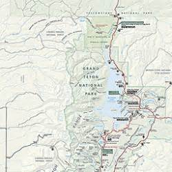 grand teton national park map my