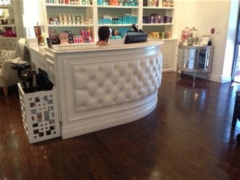 tufted salon reception desk 83 best salon salon salon images on pinterest hair