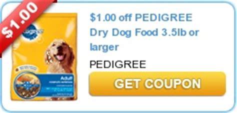 dog food coupons pedigree kroger pet food closeout deals starting at 0 12