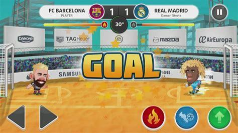 download game head soccer la liga 2016 mod head soccer la liga 2017 android gameplay 5 youtube