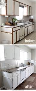 Painting Kitchen Countertops Before And After by Before After Paint Laminate Countertops And Laminate