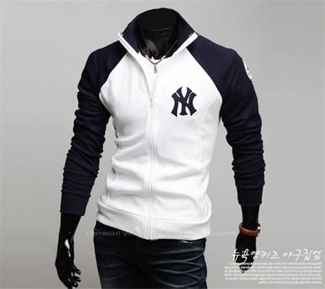 Sweaterjaket Yankees new york yankees logo baseball jackets coats for sweater ebay