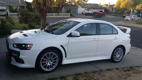 mitsubishi evo white 2014 wicked white mitsubishi lancer evo gsr pictures mods