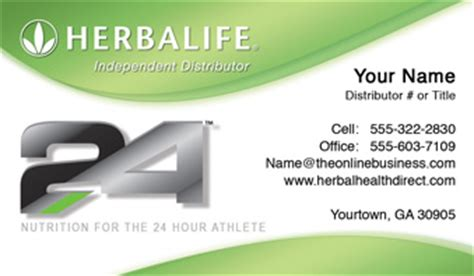 Herbalife Business Cards   1000 Herbalife Business Card $59.99
