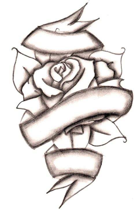 heart and ribbon tattoo designs collection 72