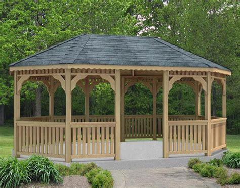 pavillon umrandung 110 gazebo designs ideas wood vinyl octagon