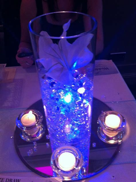 diy decorations led led quot submersible quot lights can really add pizazz to diy table centerpieces covering 1