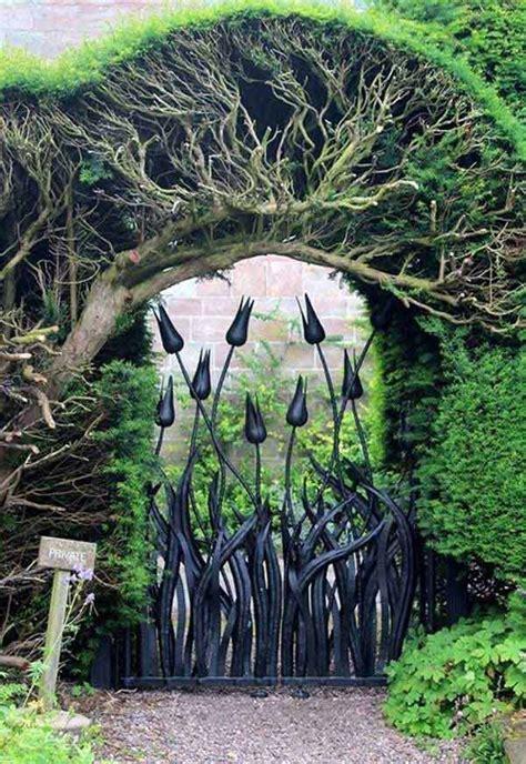 beautiful garden gate ideas  reflect style