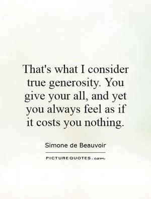 generosity quotes by authors quotesgram