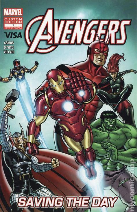 Visa Giveaway - avengers saving the day 2012 visa giveaway comic books