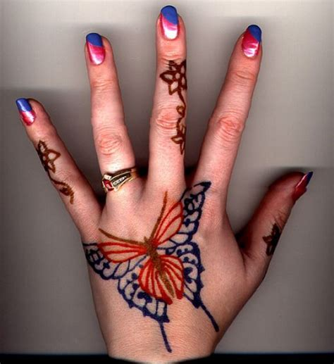henna tattoo butterfly sneweeeeen indian designs
