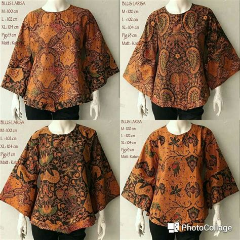 Blouse Batik Cantik Modern Big Size Baju Batik Wanita 3 559 best blus batik images on