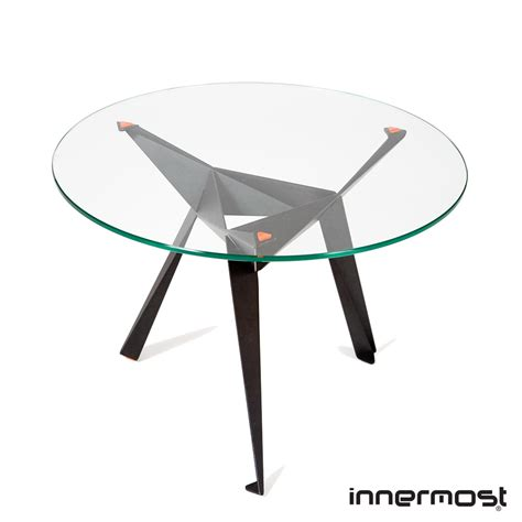 Origami Side Table - origami side table innermost metropolitandecor