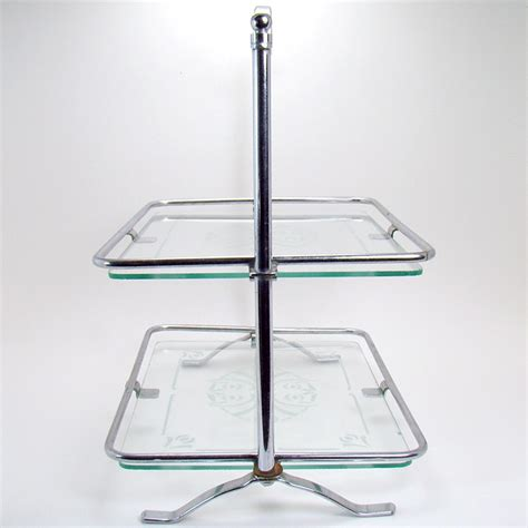 two tier dresser tray with glass inserts dtr antiques