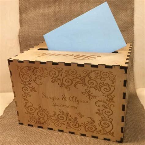 wooden wedding box card holder wedding card box custom card box rustic wood card holder gift box keepsake memory box card