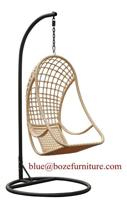 swing supplier garden rattan furniture hammock wicker swing chair bz