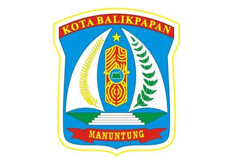 kota balikpapan logo vector city  indonesia format