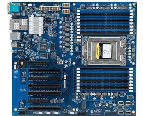 motherboard with 64gb ram support gigabyte s new amd epyc motherboard supports 1tb of ram