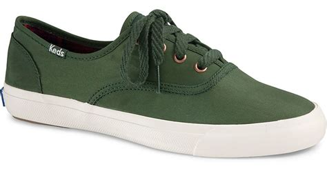 forest green sneakers keds triumph sneakers in green forest green lyst