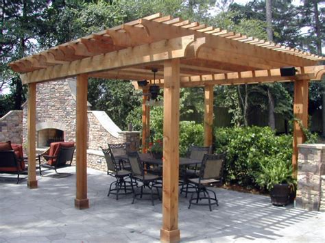 Arbor Backyard by Arbors Trellises Npr Fence Inc