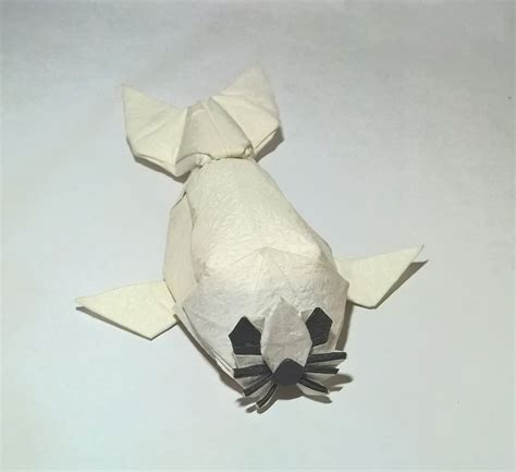 How To Make A Seal Out Of Paper - 20 awesome origami arctic animals