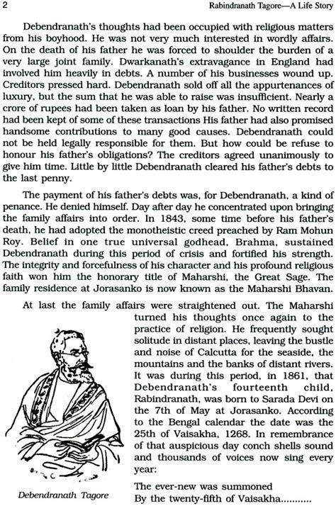 rabindranath tagore biography in english pdf rabindranath tagore a life story