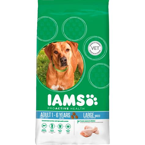 iams large breed food iams chicken large breed food from 163 8 34